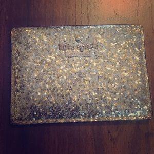 Kate Spade Metallic Glitter Card Case